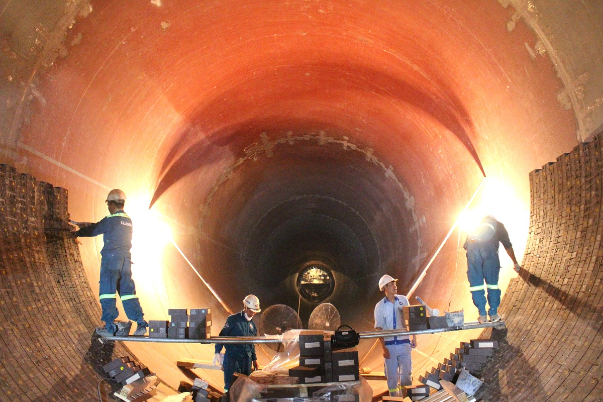 Inside Cement Kiln : The final steps preparing for kiln flame of tpd